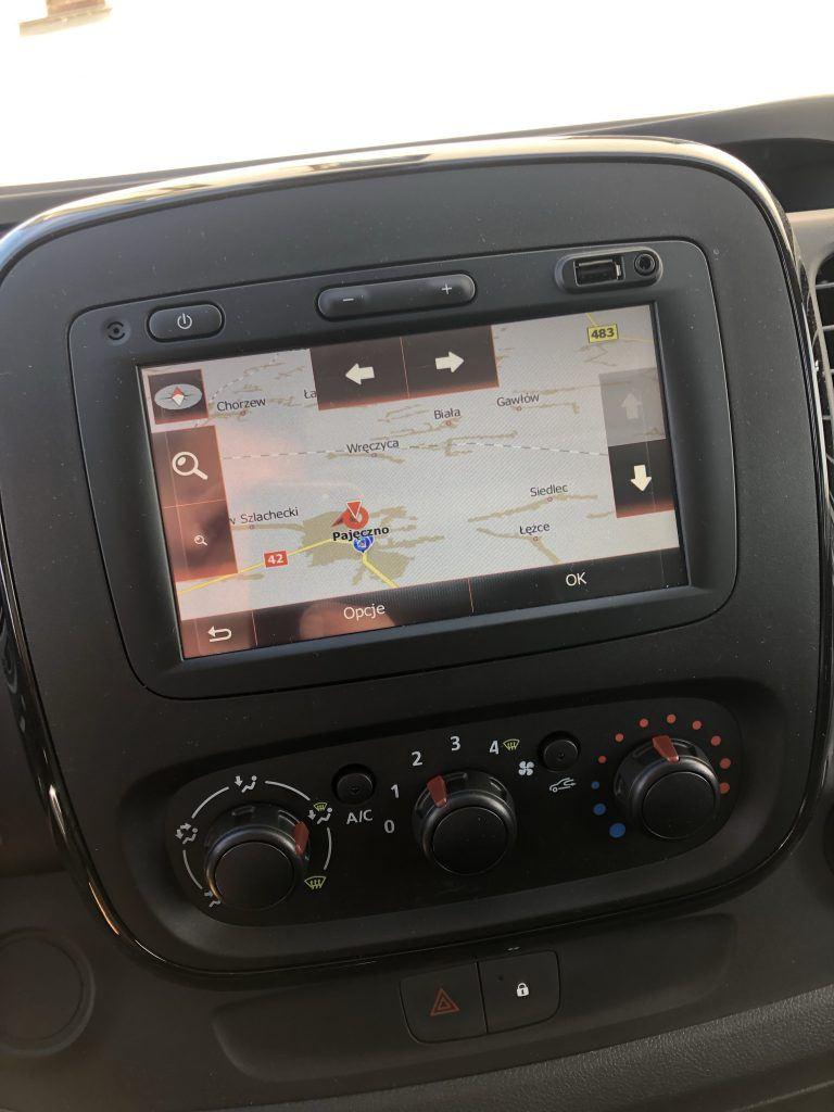 Opel Vivaro gps